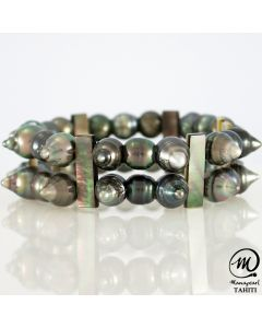 South Pacific Tahitian Pearl Bracelet