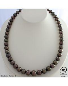 Tahitian Pearl Necklace Choker on ManaGirl