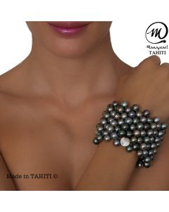 Tahitian Pearl Coco Bracelet