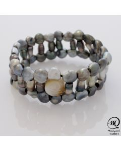 Tahtian Pearl Keshi Bracelet