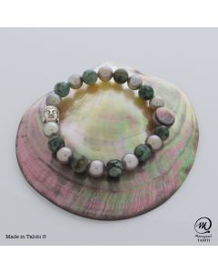 Tahitian Pearl MaNamaste Bracelet