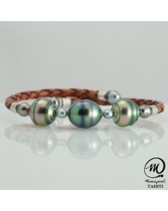 Unisex Tahitian Pearl MANA Bracelet by MANAPEARL