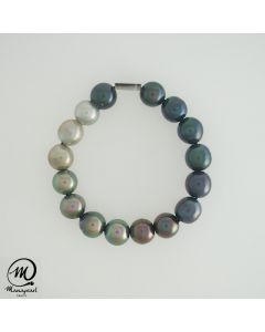 Tahitian Pearl Bracelet, Round 11 mm