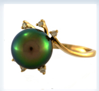 Tahitian Pearl Rings
